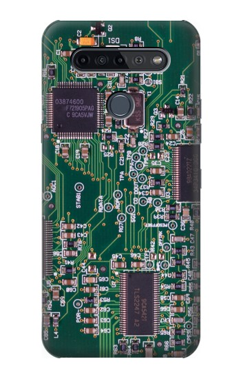 Printed Electronics Circuit Board Graphic LG K51S Case