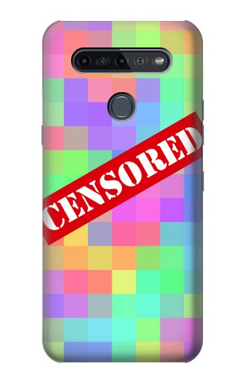 Printed Mosaic Censored LG K51S Case