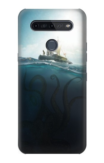 Printed Giant Octopus LG K51S Case
