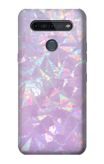 Printed Iridescent Holographic Photo Printed LG K51S Case