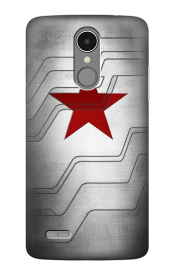 Printed Winter Soldier Bucky Arm Texture LG K8 (2017) Case