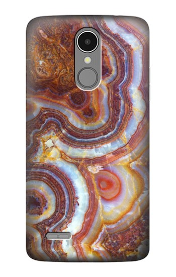 Printed Colored Marble Texture Printed LG K8 (2017) Case