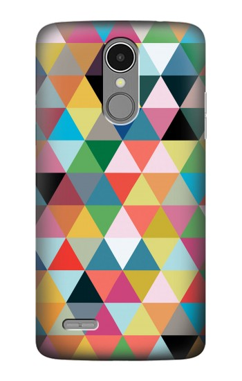 Printed Triangles Vibrant Colors LG K8 (2017) Case