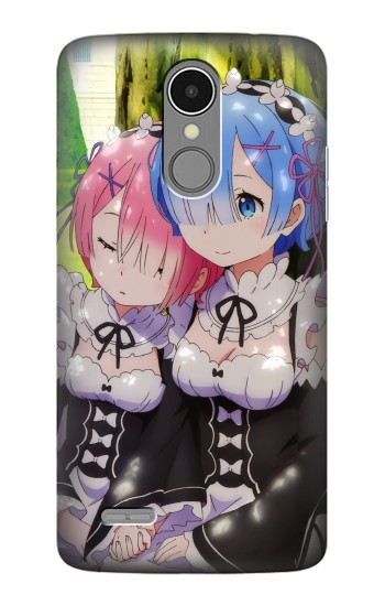 Printed Rem Ram Re Zero Starting Life in Another World LG K8 (2017) Case