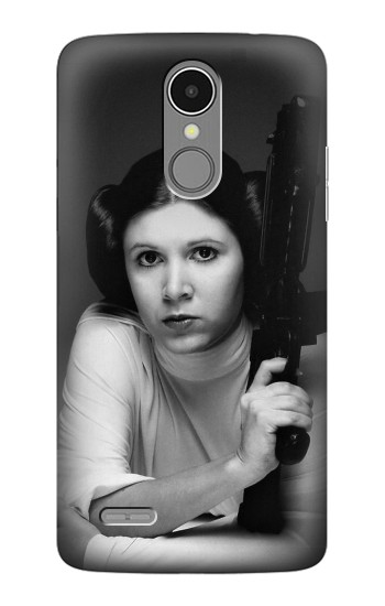 Printed Princess Leia Carrie Fisher LG K8 (2017) Case