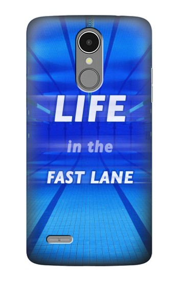 Printed Life in the Fast Lane Swimming Pool LG K8 (2017) Case