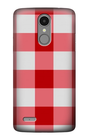 Printed Red Gingham LG K8 (2017) Case