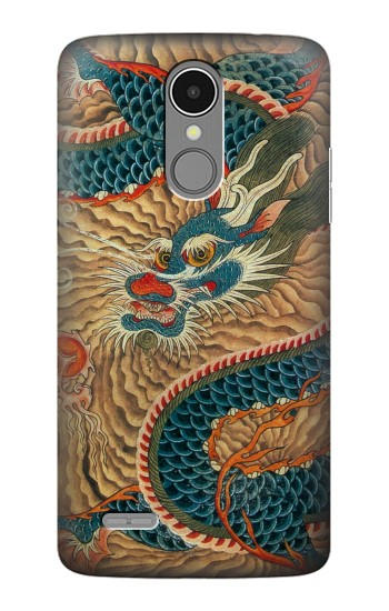 Printed Dragon Cloud Painting LG K8 (2017) Case