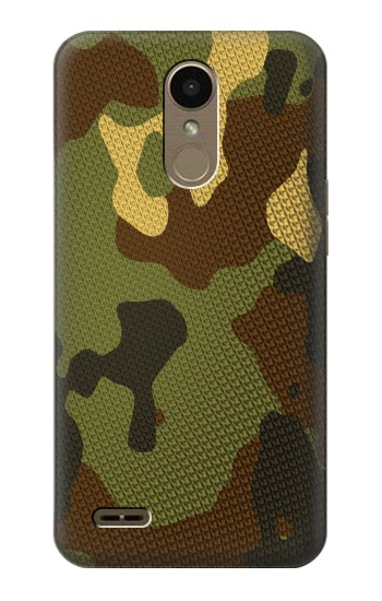 Printed Camo Camouflage Graphic Printed LG K10 (2018) Case