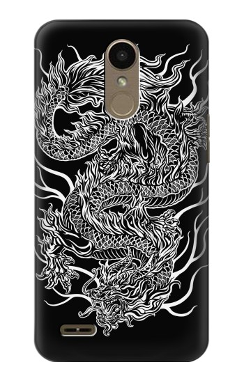 Printed Dragon Tattoo LG K10 (2018) Case
