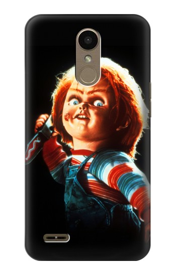 Printed Chucky With Knife LG K10 (2018) Case