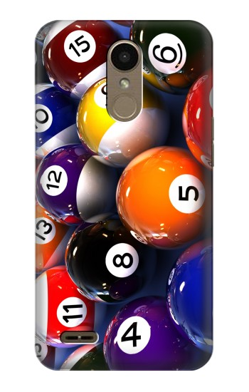 Printed Billiard Pool Ball LG K10 (2018) Case