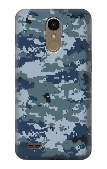 Printed Navy Camo Camouflage Graphic LG K10 (2018) Case