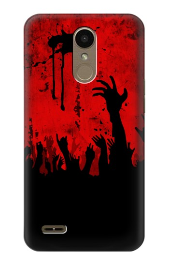 Printed Zombie Hands LG K10 (2018) Case