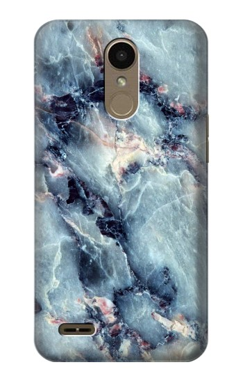 Printed Blue Marble Texture LG K10 (2018) Case