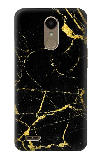 Printed Gold Marble Graphic Printed LG K10 (2018) Case