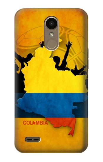 Printed Colombia Football Flag LG K10 (2018) Case