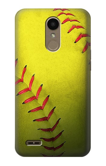 Printed Yellow Softball Ball LG K10 (2018) Case
