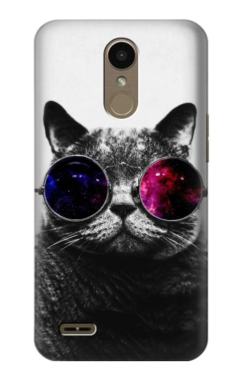 Printed Cool Cat Glasses LG K10 (2018) Case