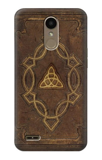 Printed Spell Book Cover LG K10 (2018) Case