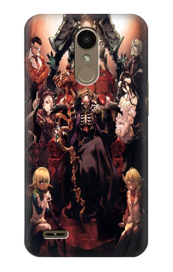 Printed Overlord Ainz Ooal Gown LG K10 (2018) Case