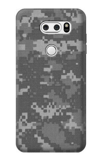 Printed Army White Digital Camo LG V30S ThinQ Case