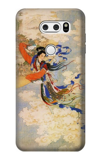 Printed Chang-E Moon Goddess LG V30S ThinQ Case