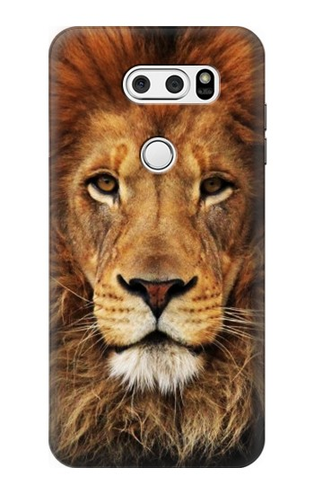Printed Lion King of Beasts LG V30S ThinQ Case