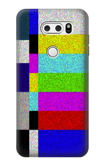 Printed Noise Signal TV LG V30S ThinQ Case