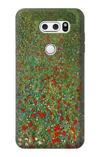 Printed Gustav Klimt Poppy Field LG V30S ThinQ Case