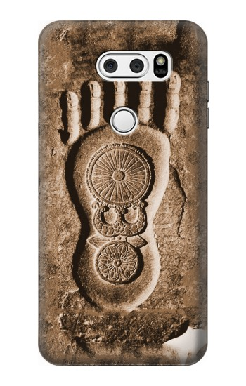 Printed Buddha Footprint LG V30S ThinQ Case