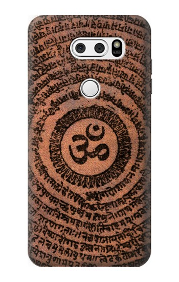 Printed Sak Yant Ohm Symbol Tattoo LG V30S ThinQ Case