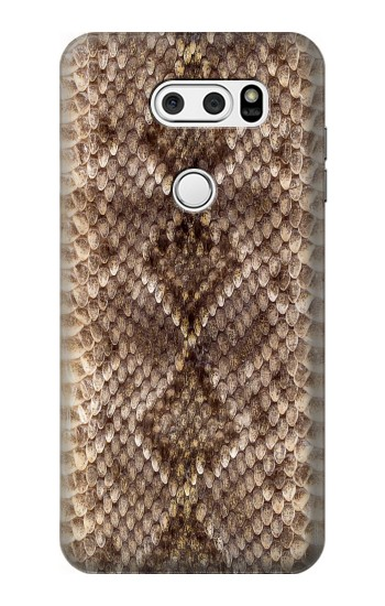 Printed Rattle Snake Skin LG V30S ThinQ Case