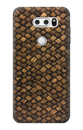 Printed Thai Bamboo Wickerwork LG V30S ThinQ Case