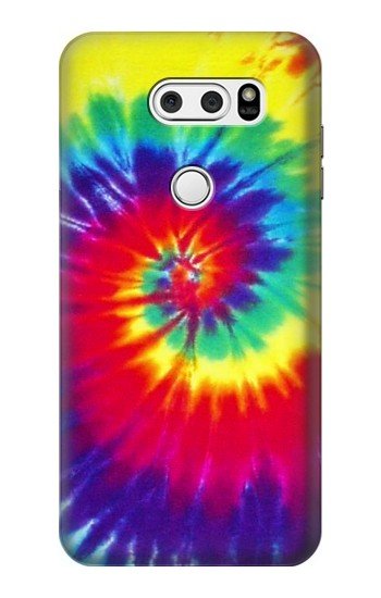 Printed Tie Dye Fabric Color LG V30S ThinQ Case