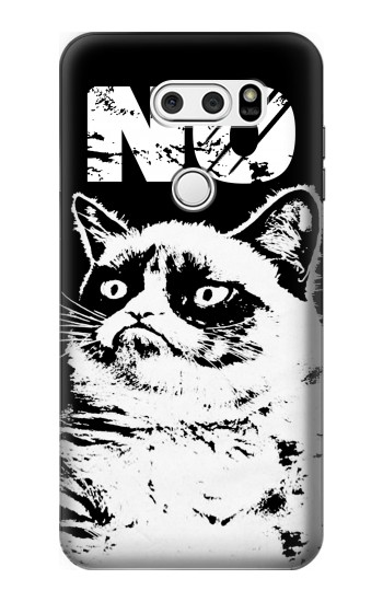 Printed Grumpy Cat No LG V30S ThinQ Case