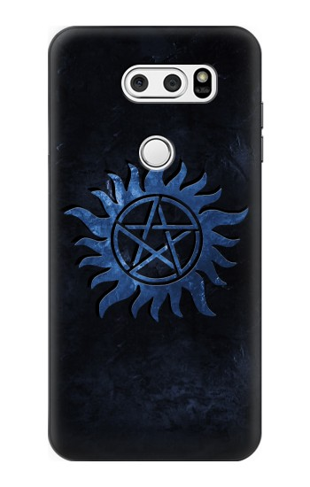 Printed Supernatural Anti Possession Symbol LG V30S ThinQ Case