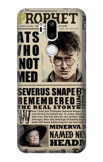 Printed Harry Potter Daily Prophet LG G7 ThinQ Case