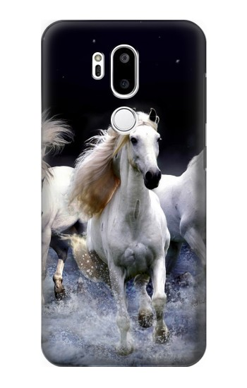 Printed White Horse LG G7 ThinQ Case