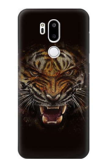 Printed Tiger Face LG G7 ThinQ Case