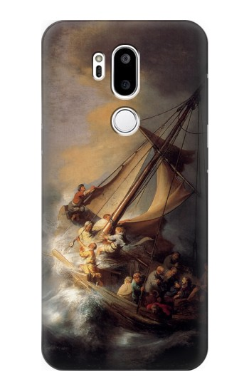 Printed Rembrandt Christ in The Storm LG G7 ThinQ Case