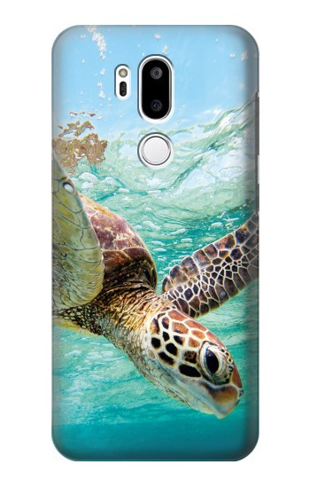 Printed Ocean Sea Turtle LG G7 ThinQ Case