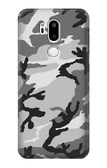 Printed Snow Camo Camouflage Graphic Printed LG G7 ThinQ Case
