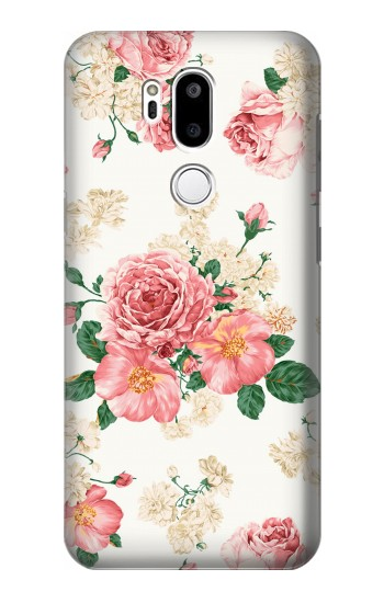 Printed Rose Pattern LG G7 ThinQ Case