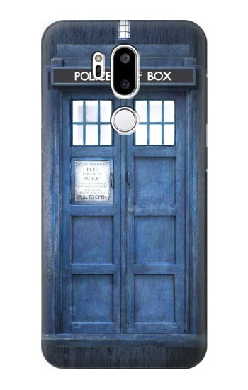 Printed Doctor Who Tardis LG G7 ThinQ Case