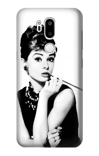 Printed Audrey Hepburn Breakfast at Tiffanys LG G7 ThinQ Case