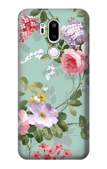 Printed Flower Floral Art Painting LG G7 ThinQ Case