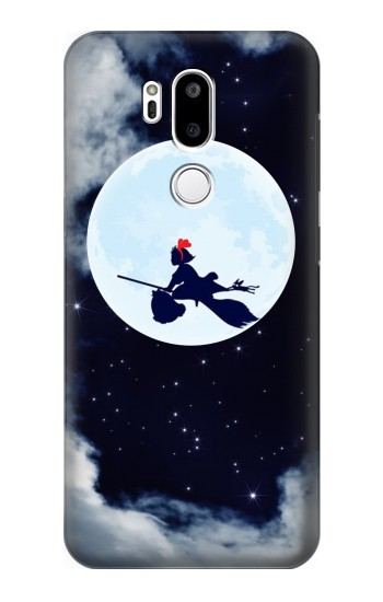 Printed Kiki Delivery Service Little Witch Kiki Moon LG G7 ThinQ Case