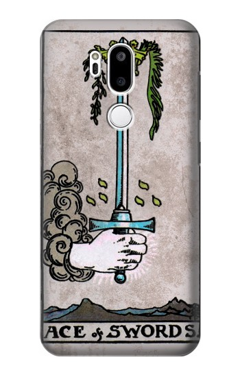 Printed Tarot Ace of Swords LG G7 ThinQ Case
