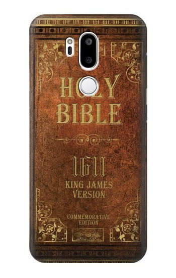 Printed Holy Bible 1611 King James Version LG G7 ThinQ Case